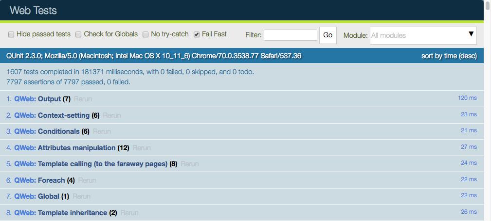 Odoo 13开发者文档:测试Odoo