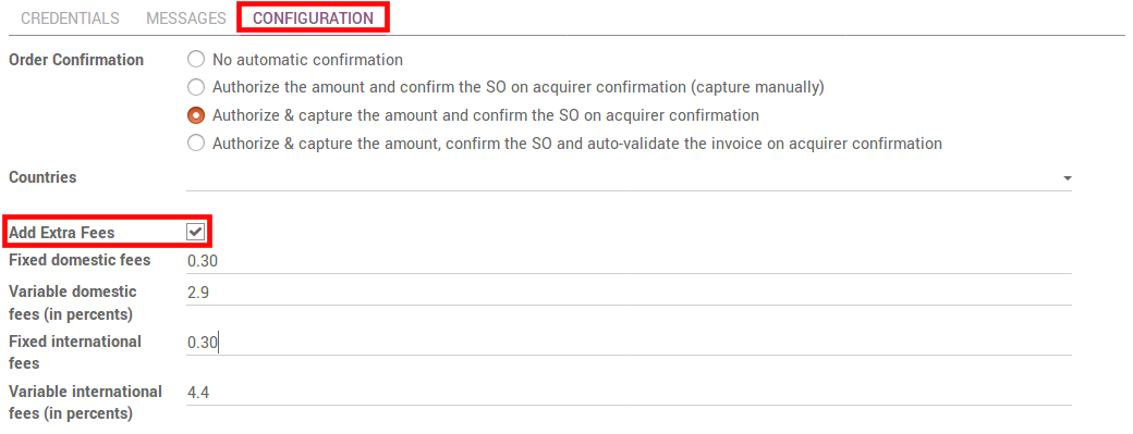 How to get paid with Paypal — Odoo 10 0 documentation