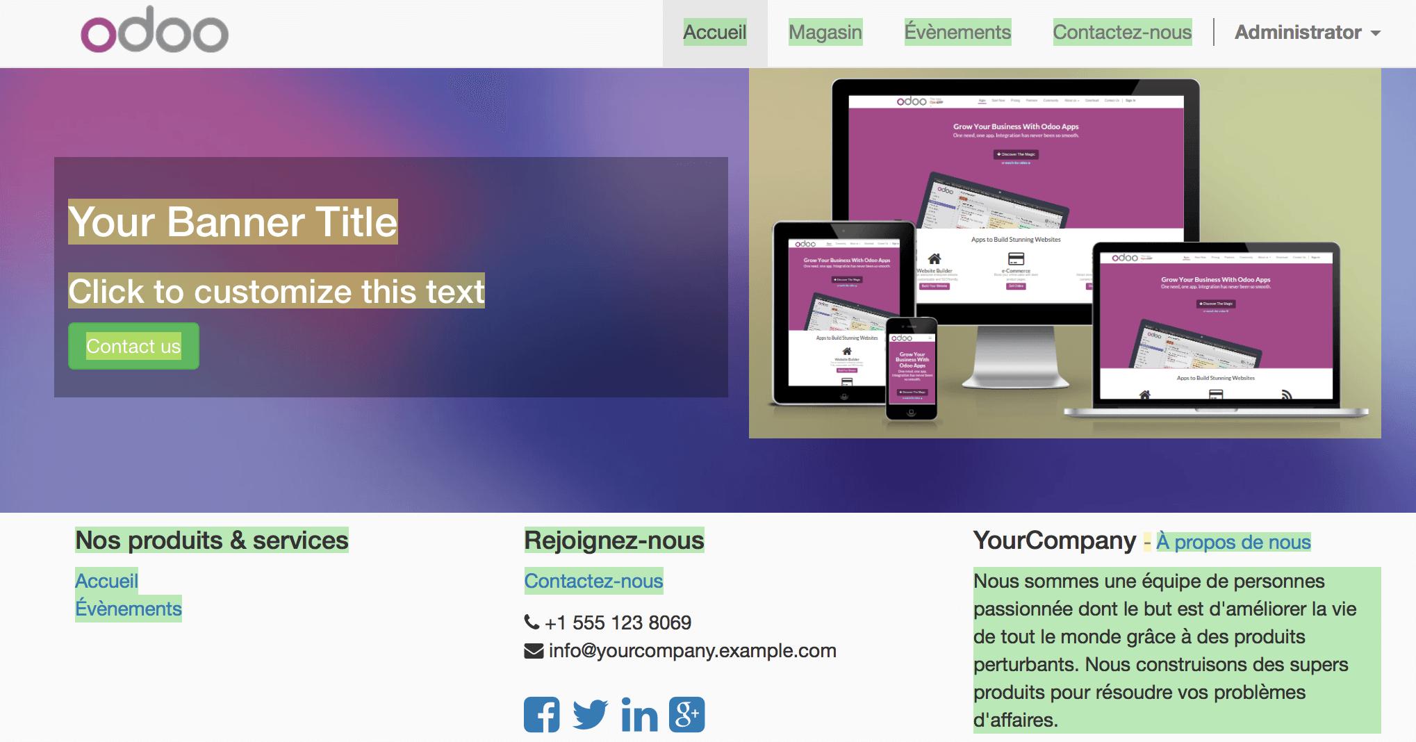 How to translate my website — Odoo 10 0 documentation