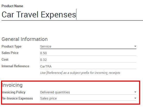Expenses — Odoo 11 0 documentation