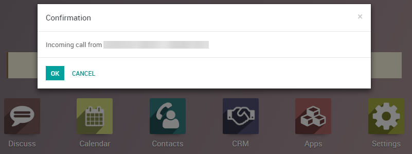 Use VOIP services in Odoo with OnSIP — Odoo 11 0 documentation
