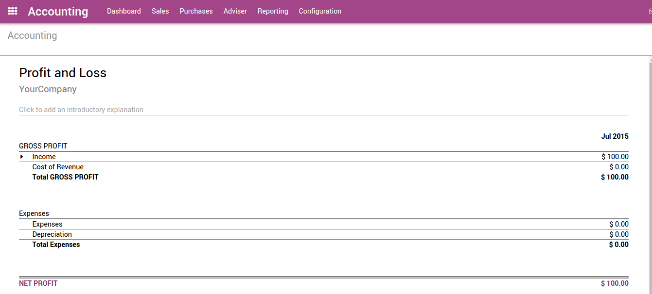 From Customer Invoice to Payments Collection — Odoo 11 0