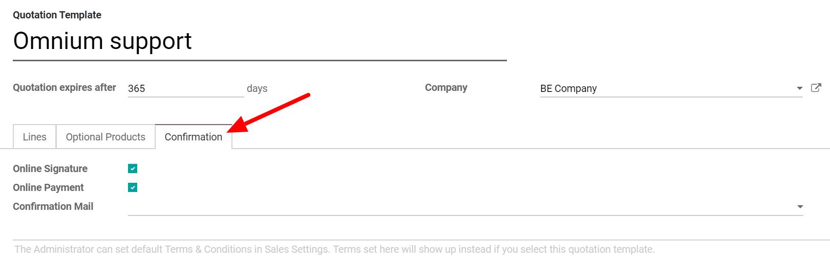 Cho phép khách hàng của bạn ký điện tử hoặc thanh toán trực tuyến trên Bán hàng Odoo