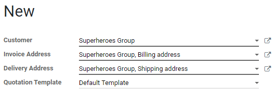 Automatic quotation fields filling on Odoo Sales