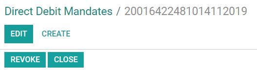 在Odoo Accounting中关闭或撤消SDD授权