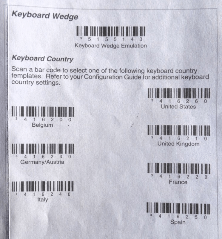 Set Up Your Barcode Scanner Odoo 90 Documentation