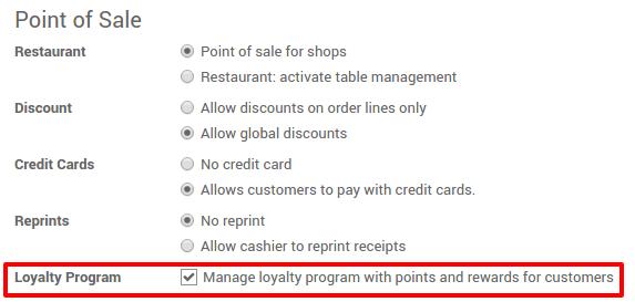 point of sale system documentation