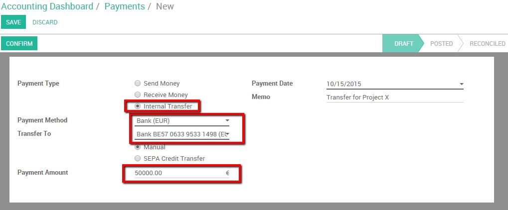Bank Wire Transfer Deutsch